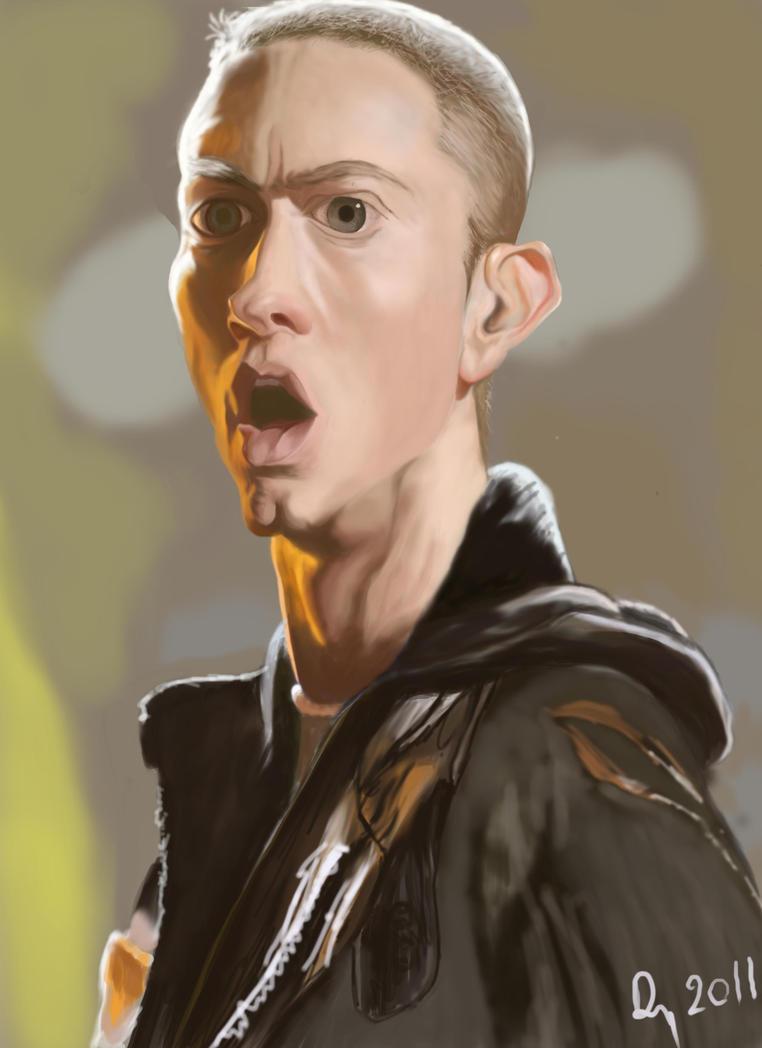 Eminem Caricature by danb13