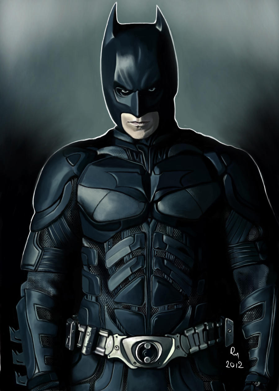THE DARK KNIGHT RISES - BATMAN by danb13 on DeviantArt