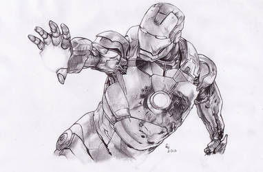 IRON MAN 3 by danb13