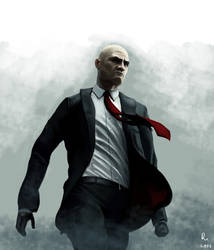 HITMAN ABSOLUTION: AGENT 47 by danb13