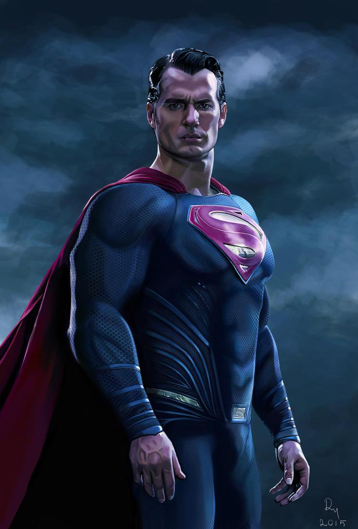 Batman v Superman | Henry Cavill Painting by danb13