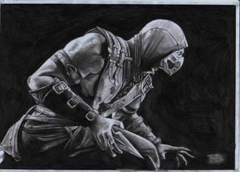 Mortal Kombat X - Scorpion by danb13