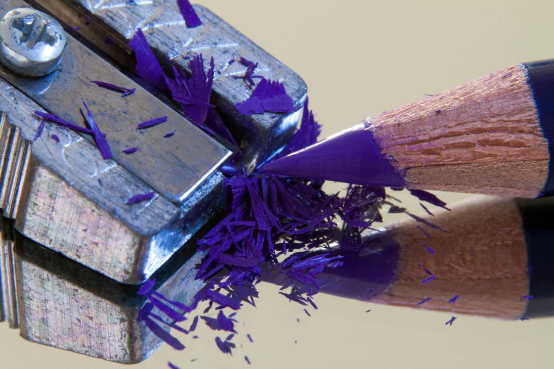 Pieces of Purple by Thystyn