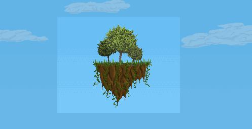 Floating Island by Thystyn