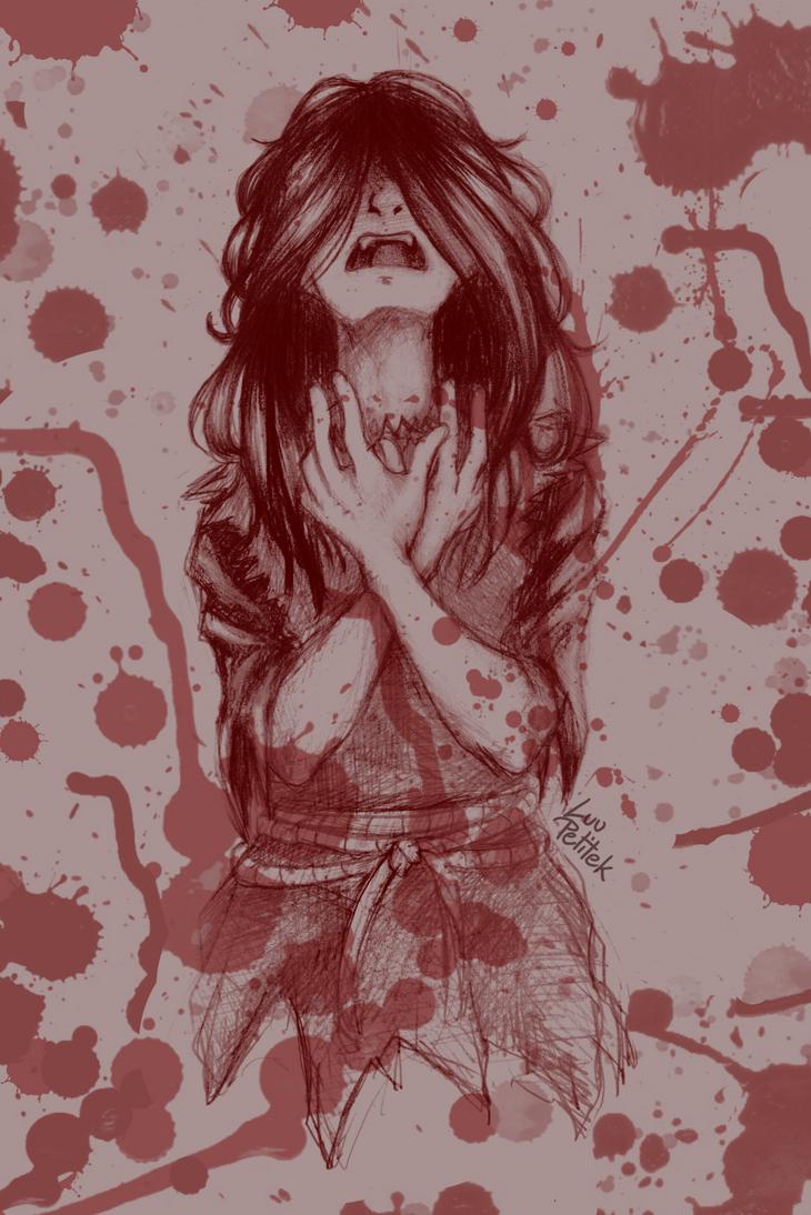 Blood lust by LuuPetitek