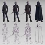 Vasdorl Auvryndar - outfits