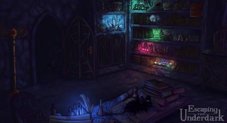 Vasdorl's room (ETU game) by LuuPetitek