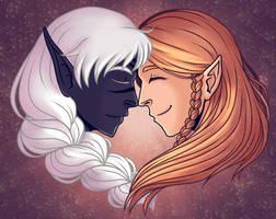 That love between us by LuuPetitek