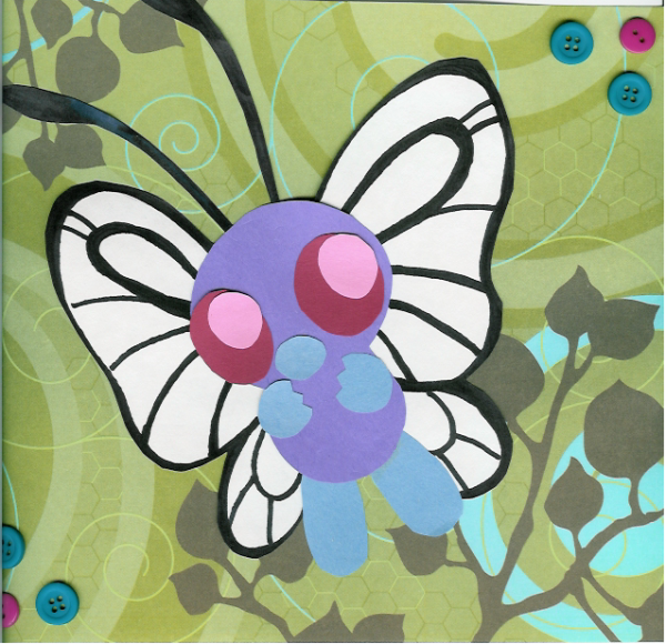 Butterfree Simplicity by zekk