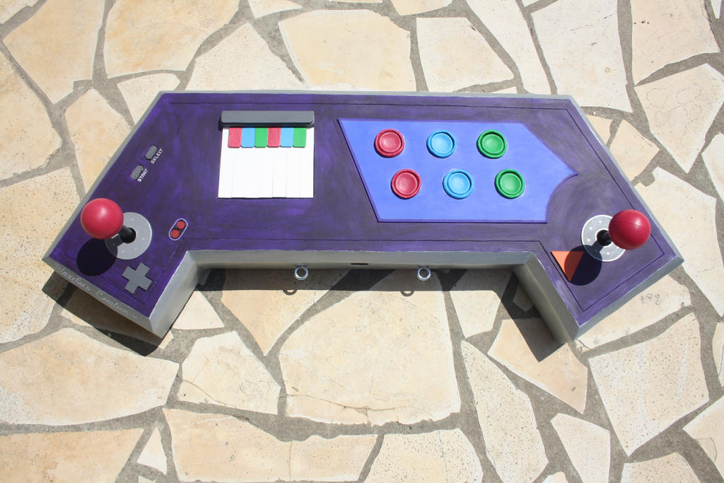 Console Sona Arcade LOL by Mijern