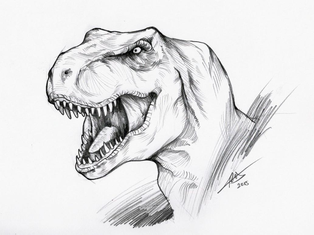 T-Rex by chuaenghan