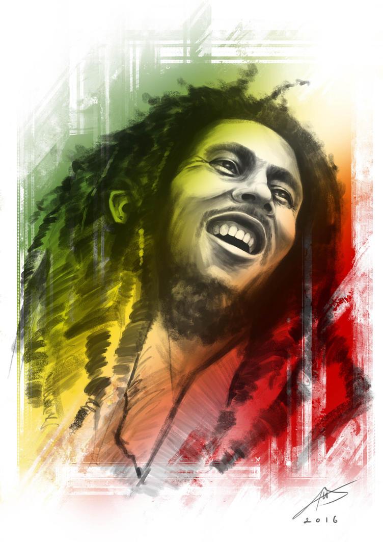 Bob Marley by chuaenghan