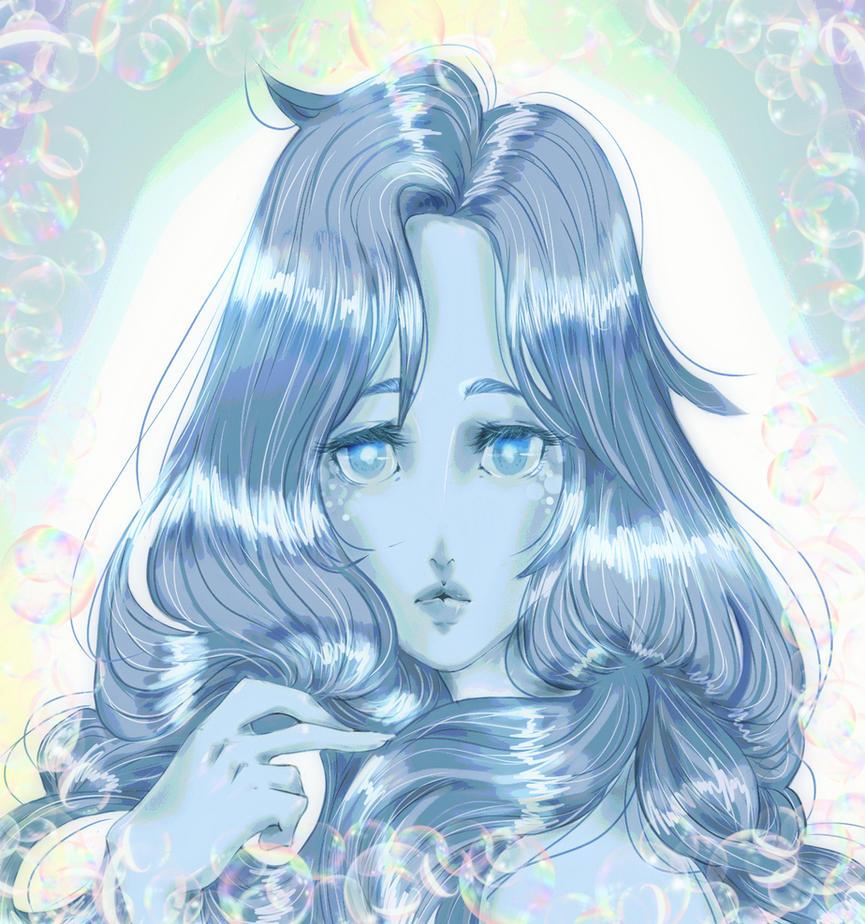 practica cabello azul  phixr by Jiswing