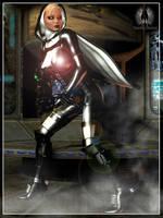 Shadowrun - Cyber Nun by RazielKanos