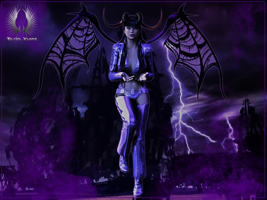 The Devil wears purple by RazielKanos