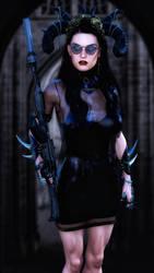 Khyra - goth Assassin