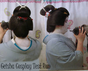 Geisha Cosplay Test-Run Details