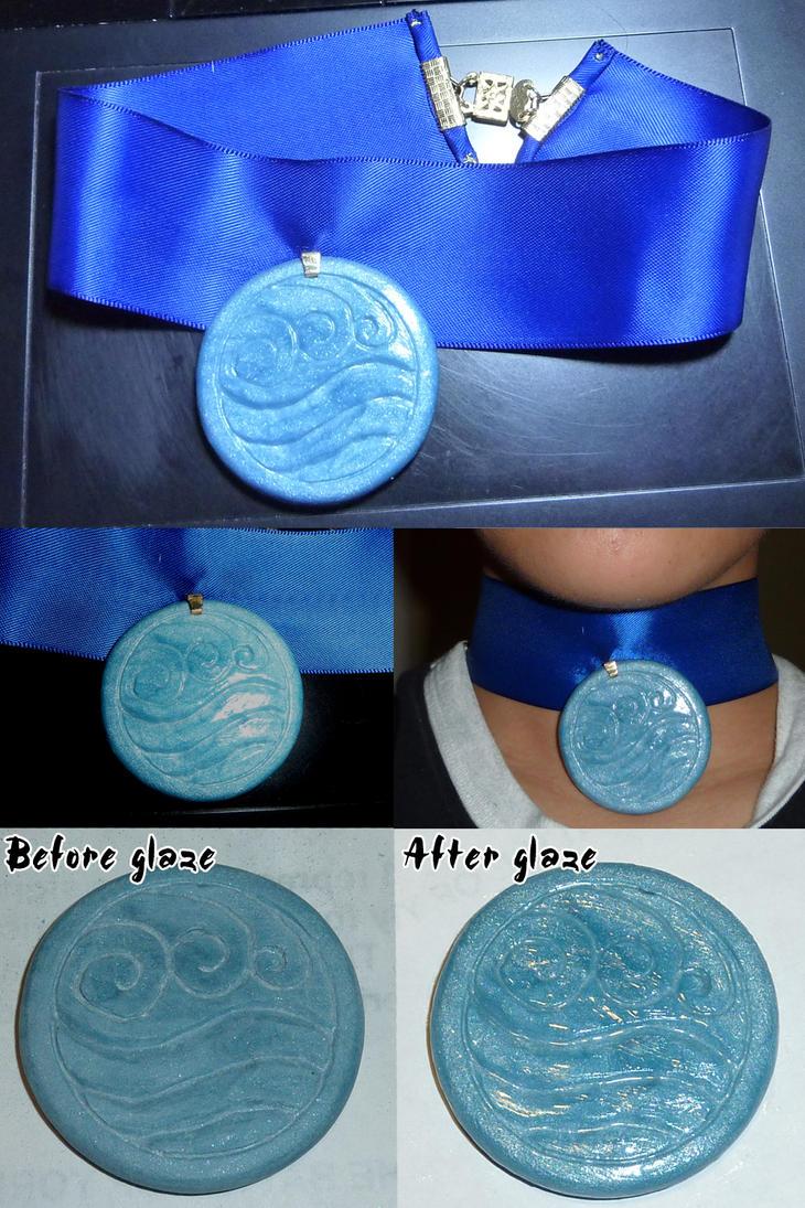 ATLA: Katara's necklace by Selofain