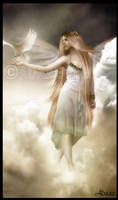 I saw an Angel.. by Adaae