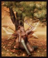 Autmn fairy by Adaae