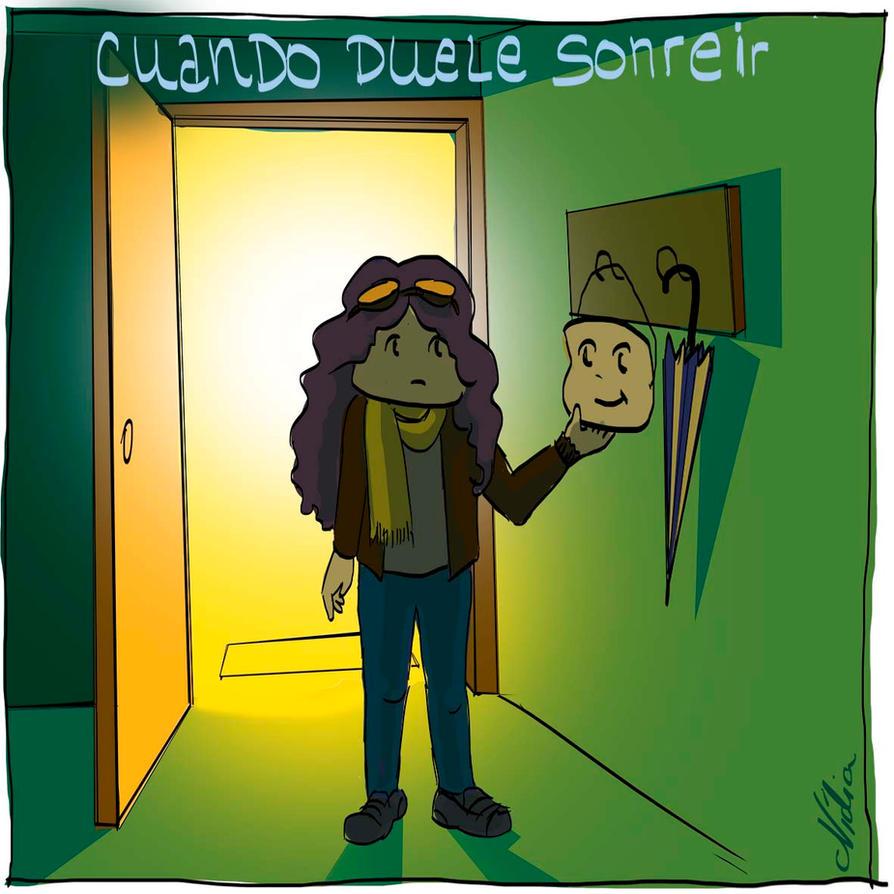 Cuando Duele Sonreir by NidiaConene