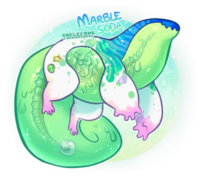 [DTA- WINNERS ANNOUNCED] marble soda snap by Skelefrog