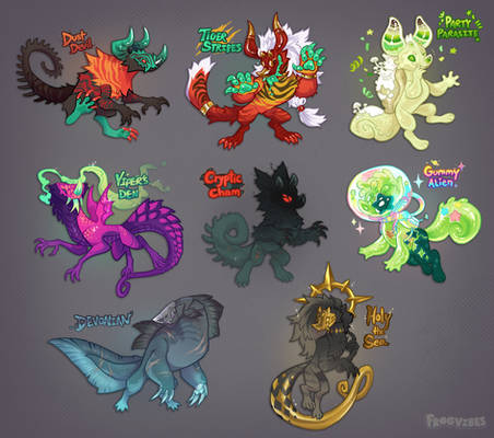 [CLOSED] Frog's Big Ol' Chimereon Guest Auction