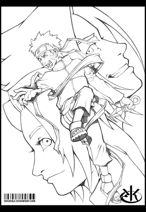 Sketch Naruto Shippuuden By Erickenji On Deviantart