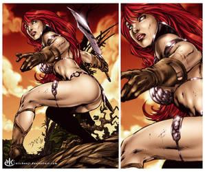 Red Sonja by erickenji