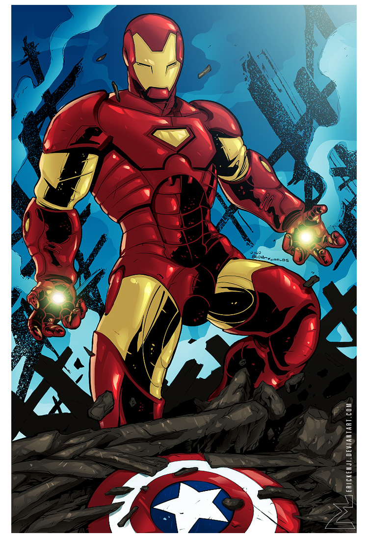 Iron Man by erickenji