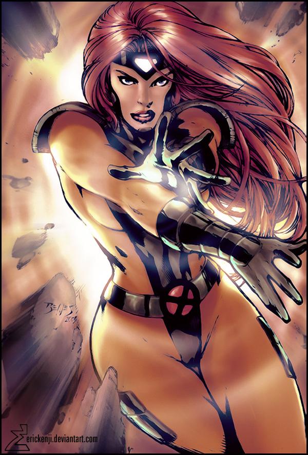 Jean Grey - Phoenix by roxcola on DeviantArt