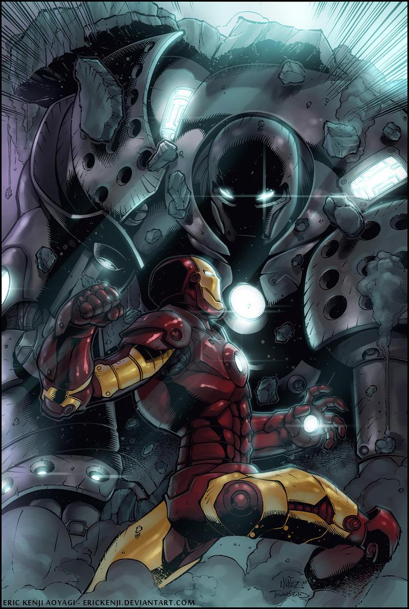 Part 14 / 8 - Page 2 Iron_Man_vs_Iron_Monger_by_erickenji