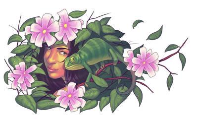 Chameleon by erickenji