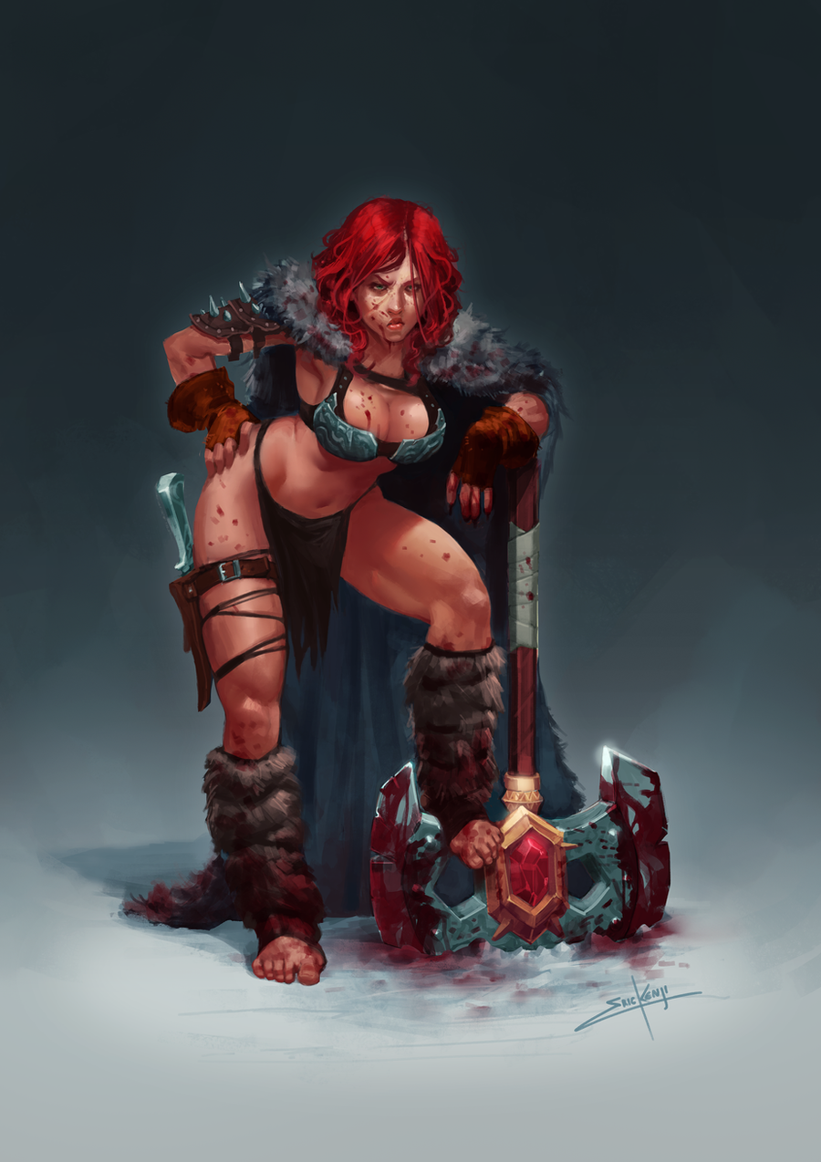 Barbarian by erickenji