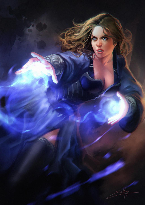 Sorcerer by erickenji