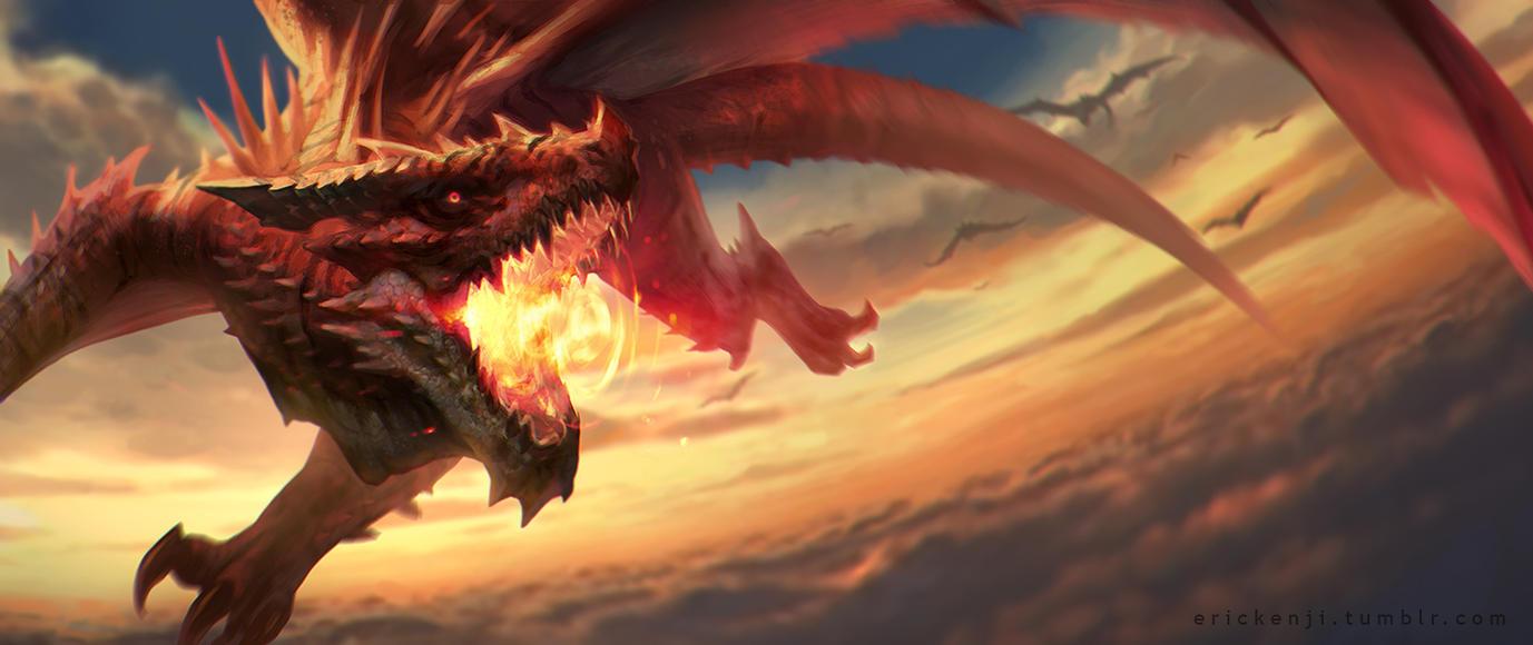 Imperial Dragon by erickenji