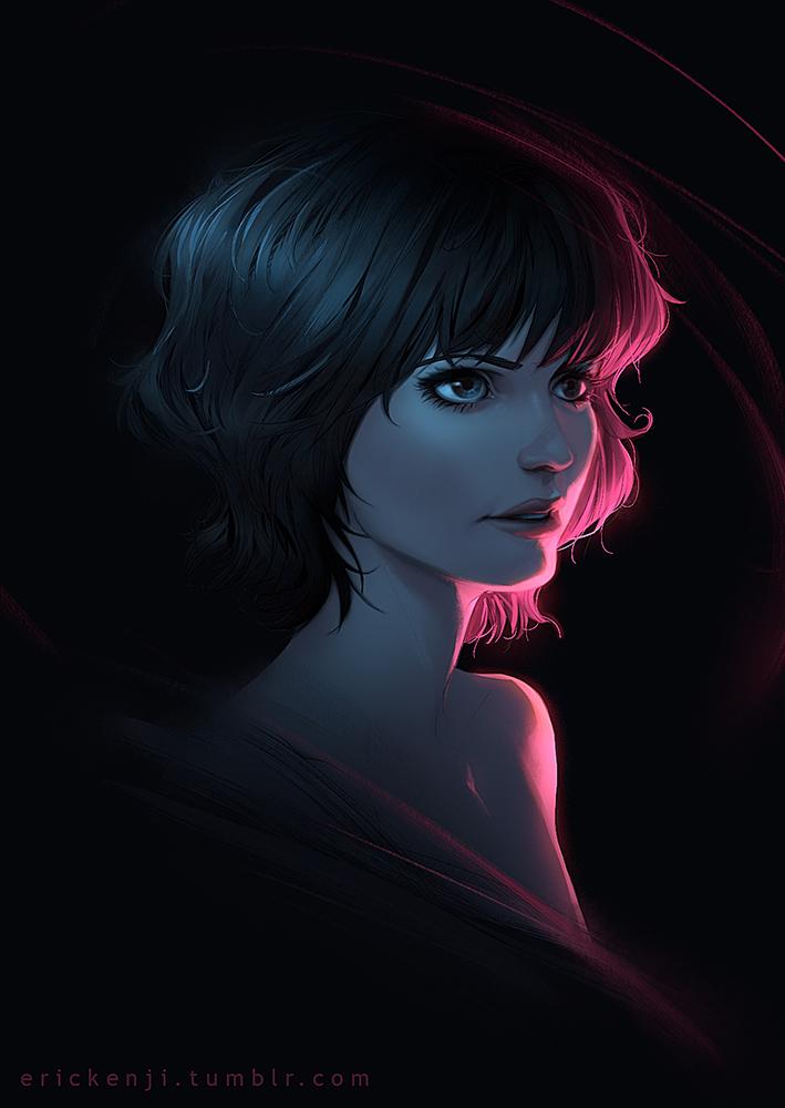 Random Portrait by erickenji