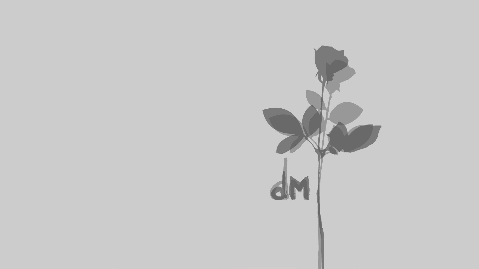 Depeche Mode Logo 2013 Depeche Mode : Grey Ro...