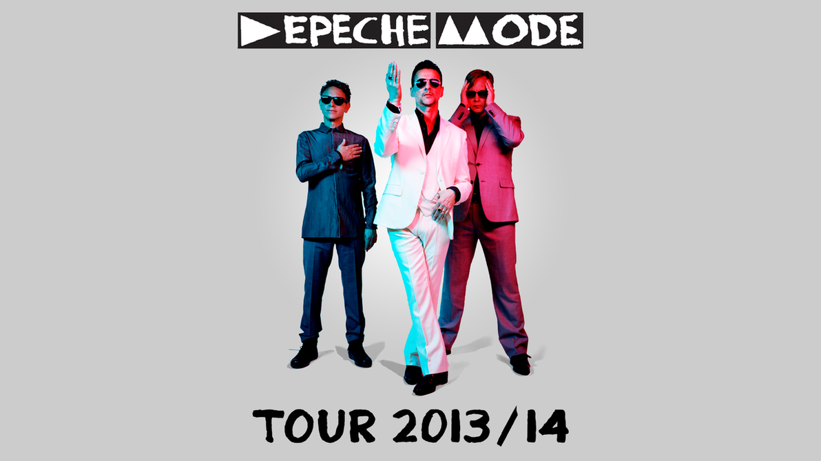 Depeche Mode Logo 2013 Depeche Mode  Tour 201314 by