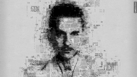 Dave Gahan : Newspaper by IDAlizes