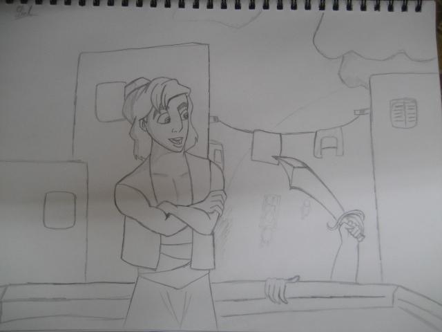 [DraNYC] Non-Conan fan art - Page 2 Testing_skill_with_Aladdin_by_RyanMcCain