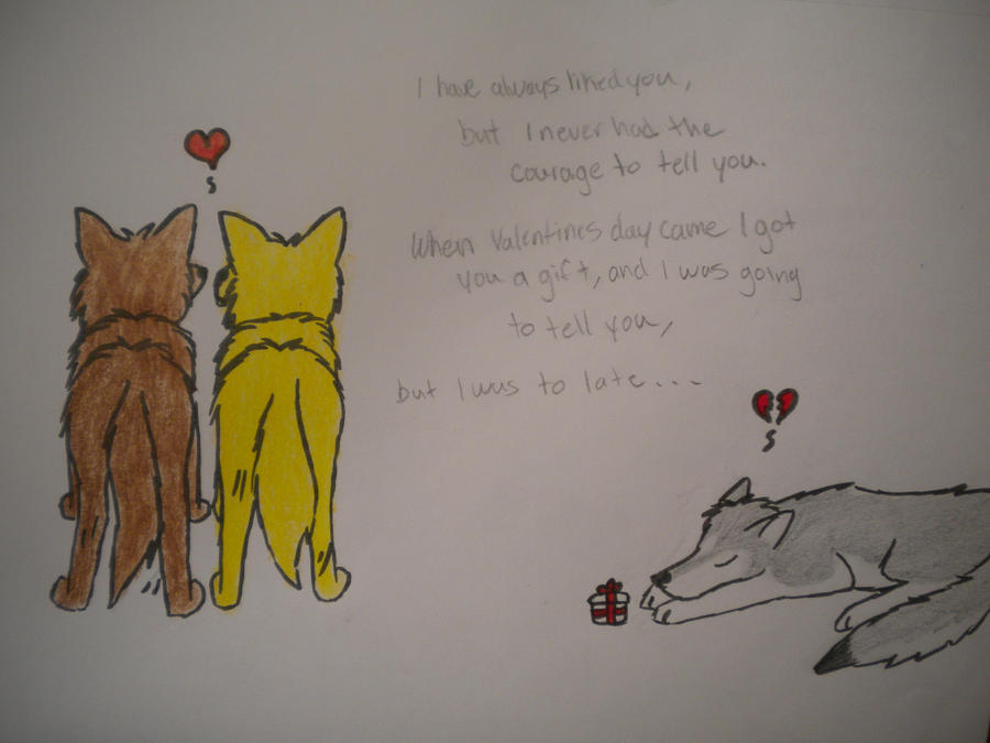 Schön Sad Valentines Day By VictoryWolf ...