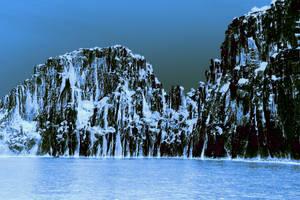 Le paysage change totalement en hiver