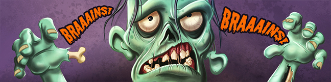 Zombie Banner by JonThomson