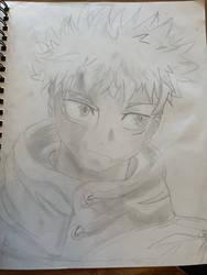 Itadori in pencil