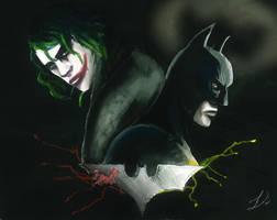 Comic art club Week 6 Batman by suicide-blue