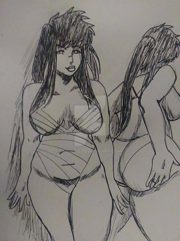 Ququmb-R Sketch by manite