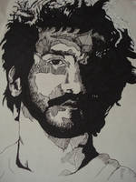 Jesus Frusciante by ufostanley