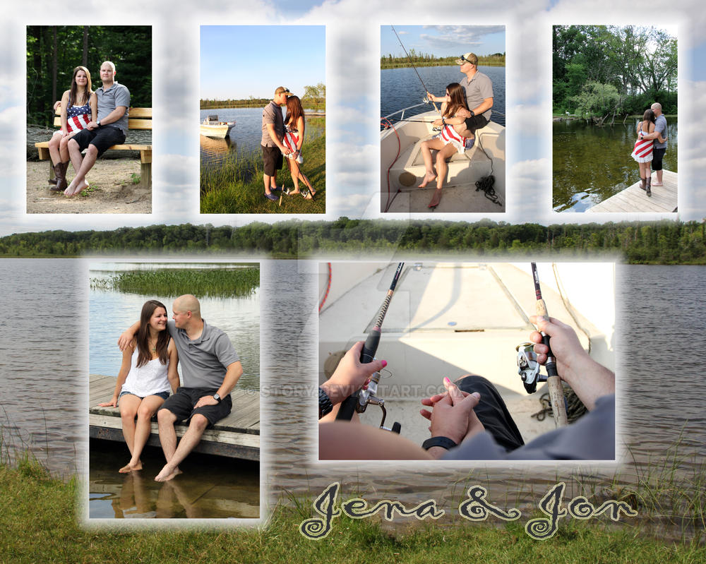 Fishing Collage by story