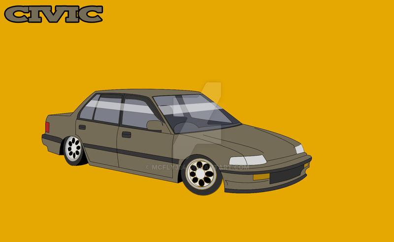 civic sedan by mcfly324
